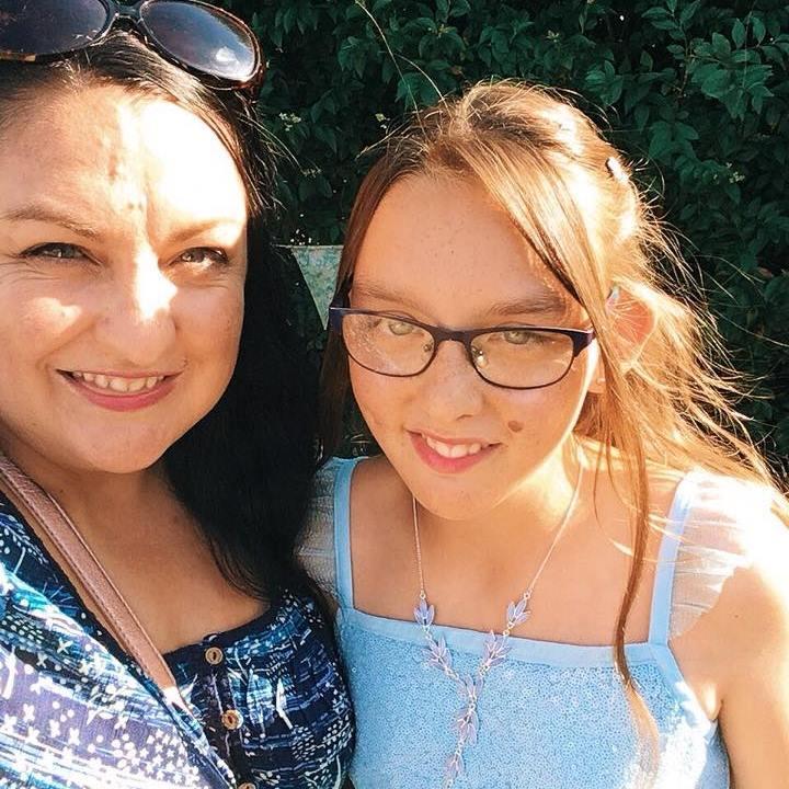 um and Rebecca at Junior School leaver's gala