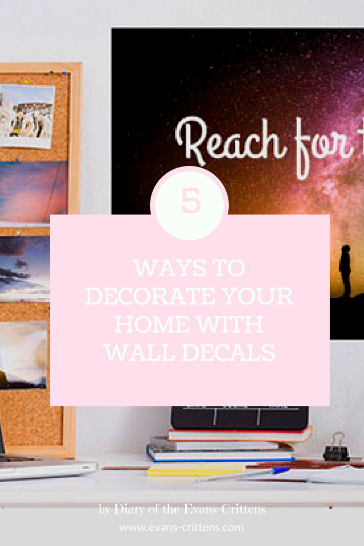 wall decals, 5 Ways to Decorate Your Home With Wall Decals
