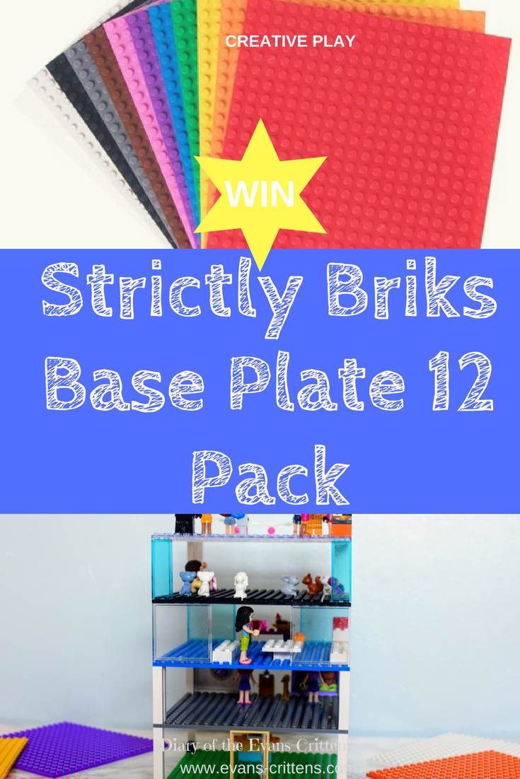 creative play, Creative Play: Win a Strictly Briks Base Plate Set