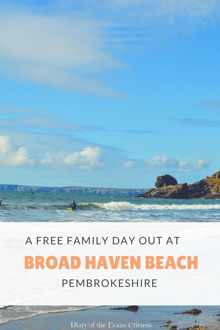 Broad Haven Beach, A Free Family Day Out at Broad Haven Beach, Pembrokeshire