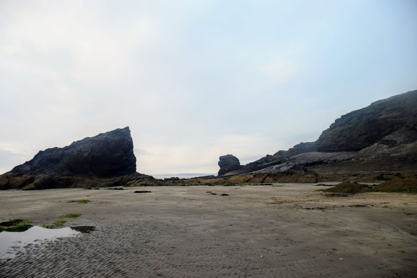 , The Last Days of August – Broad Haven Beach