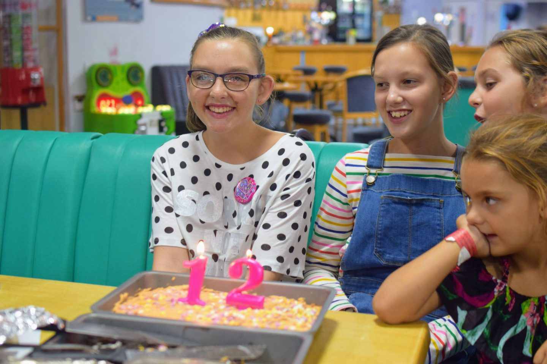 , Rebecca Turns 12!  Birthday Snapshots