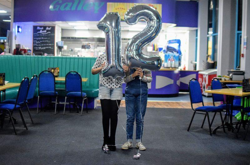 Rebecca's 12th birthday Pembrokeshire
