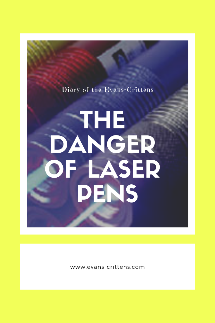 Danger of laser pens, The Danger of Laser Pens:  Danny's Story