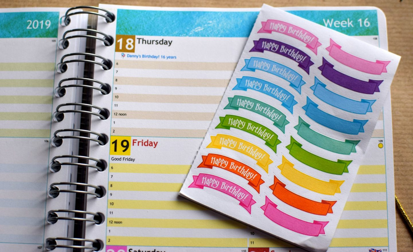 , Personal Planner A5 Planner Review and Giveaway