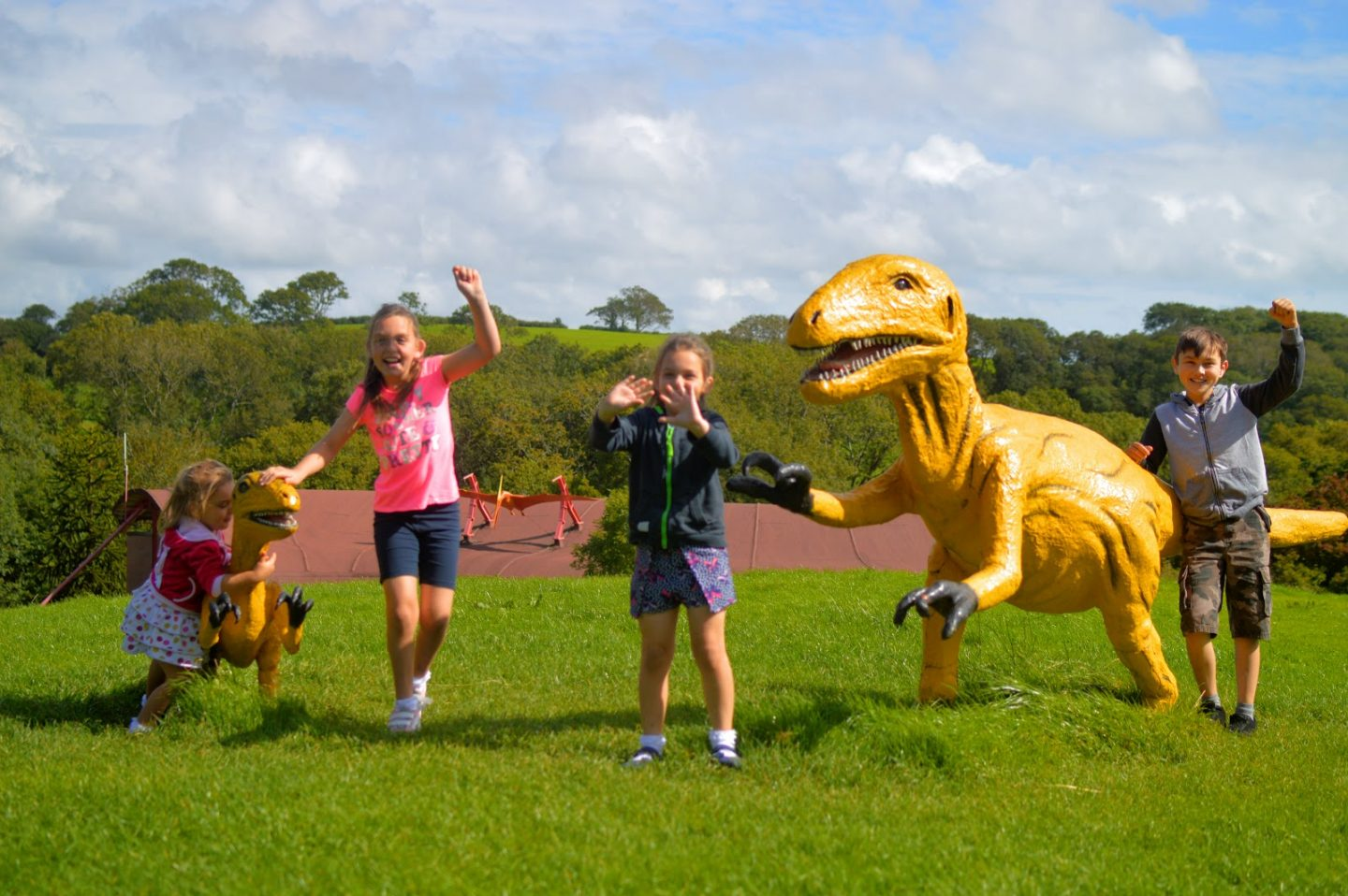 , 10 Pembrokeshire Season Tickets:  Snapshots of Our Day Out at Manor Wildlife Park