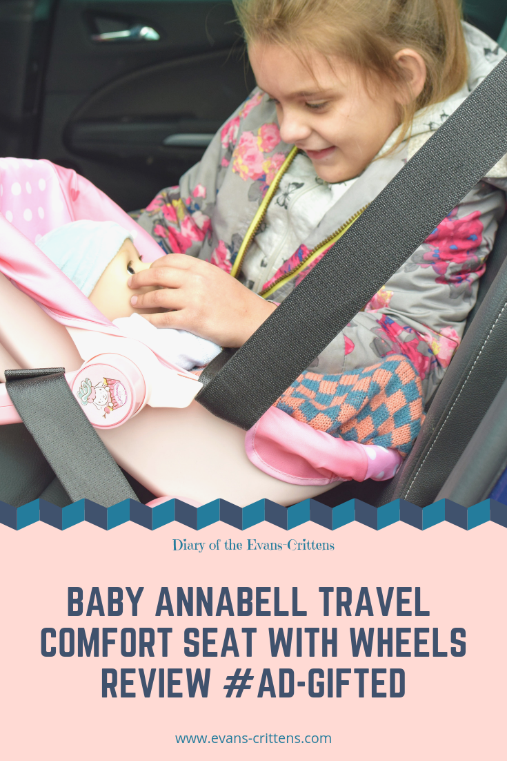 , Baby Annabell Travel Comfort Seat with Wheels Review
