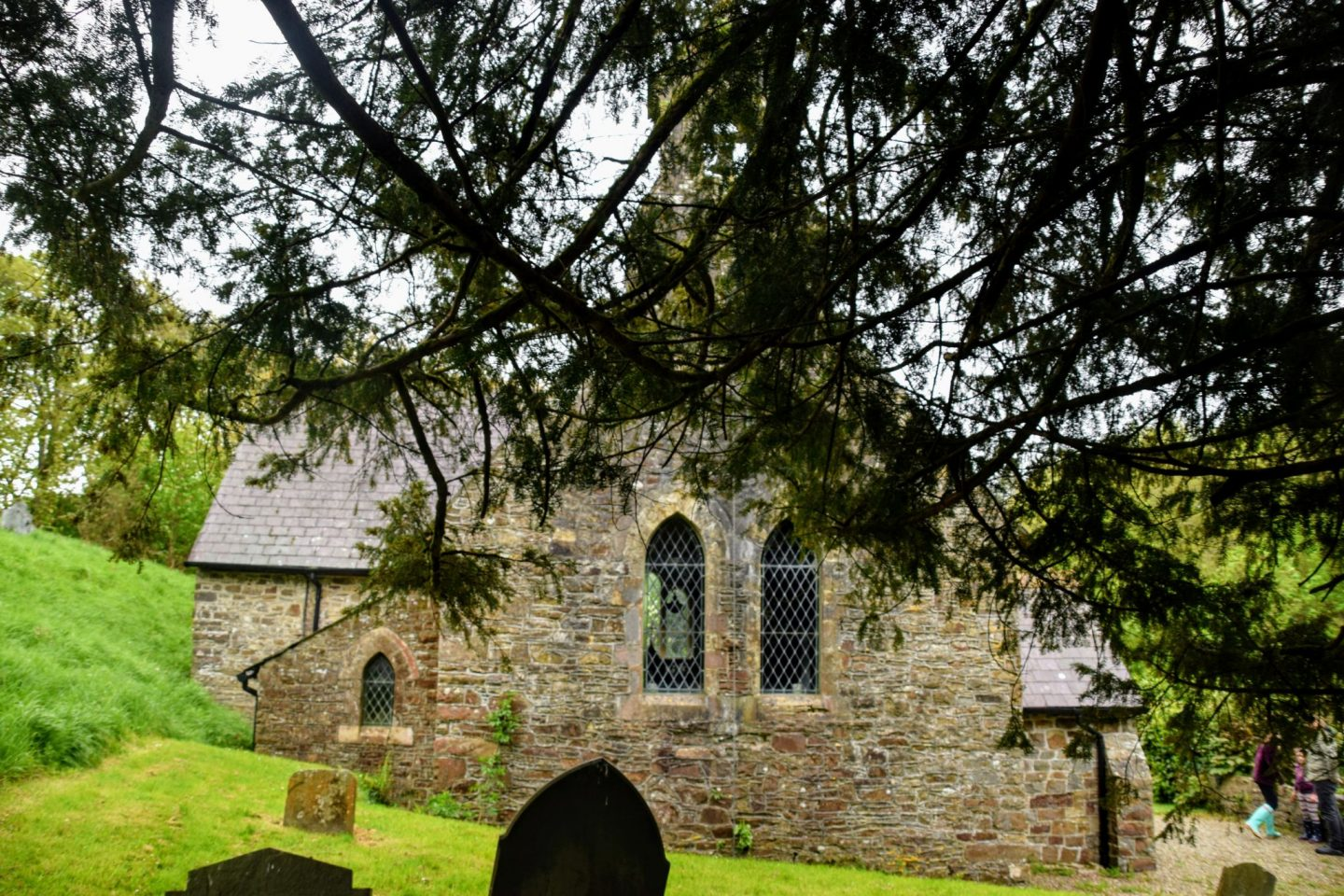 , St. Justinian's Church and The Oldest Yew Tree in Pembrokeshire