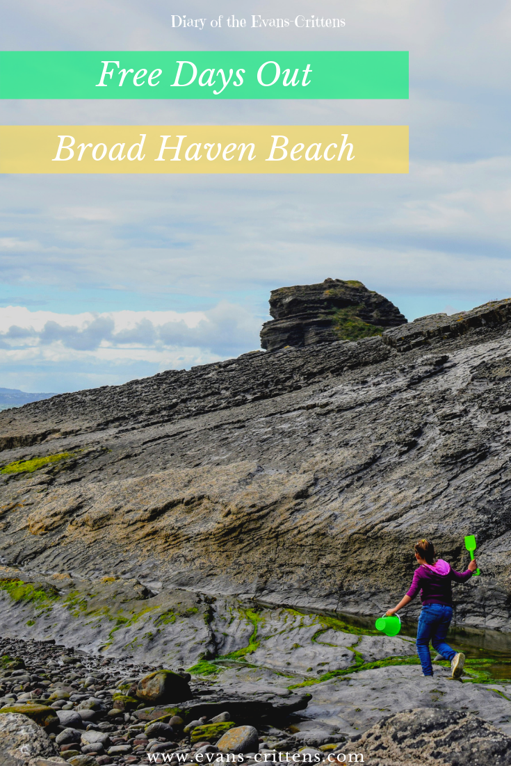 , Snapshots of Broad Haven Beach May 2019