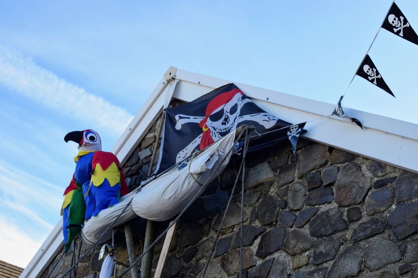 , Pirate Spotting!  Llangwm's Annual Scarecrow Competition #LlangwmFestival