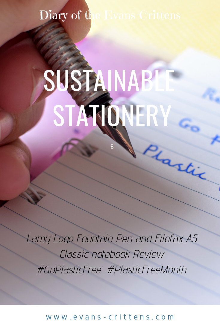 , Sustainable Stationery #GoPlasticFree #PlasticFreeJuly