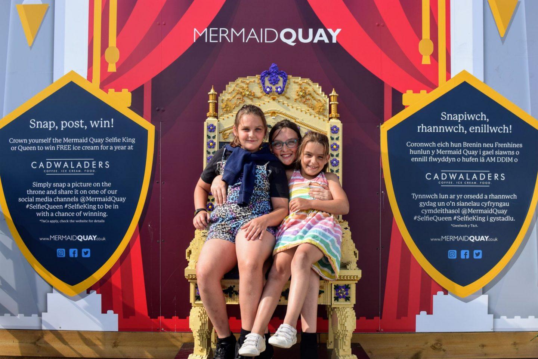 , Visiting BRICKLIVE LEGO Fantasy Kingdom at Mermaid Quay, Cardiff