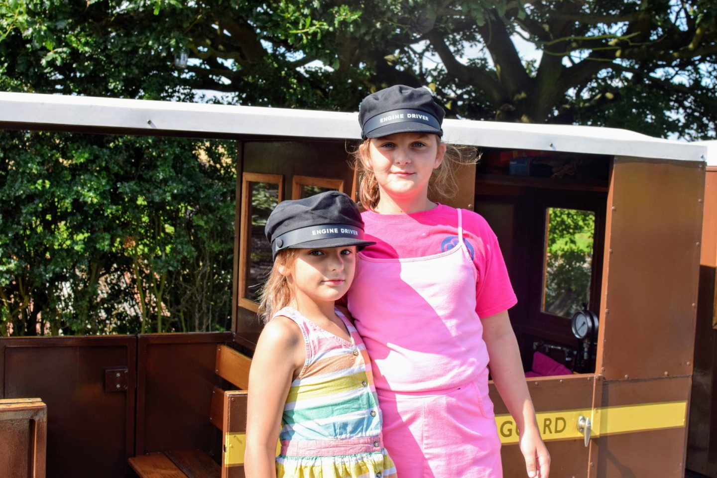 , A Steam Train Ride at Sherwood Forest Railway, Nottinghamshire