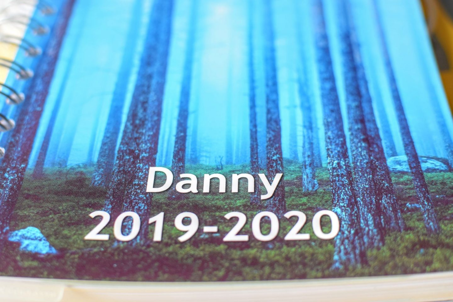 , Danny Goes to College!  Personal Planner Review and Giveaway #AD