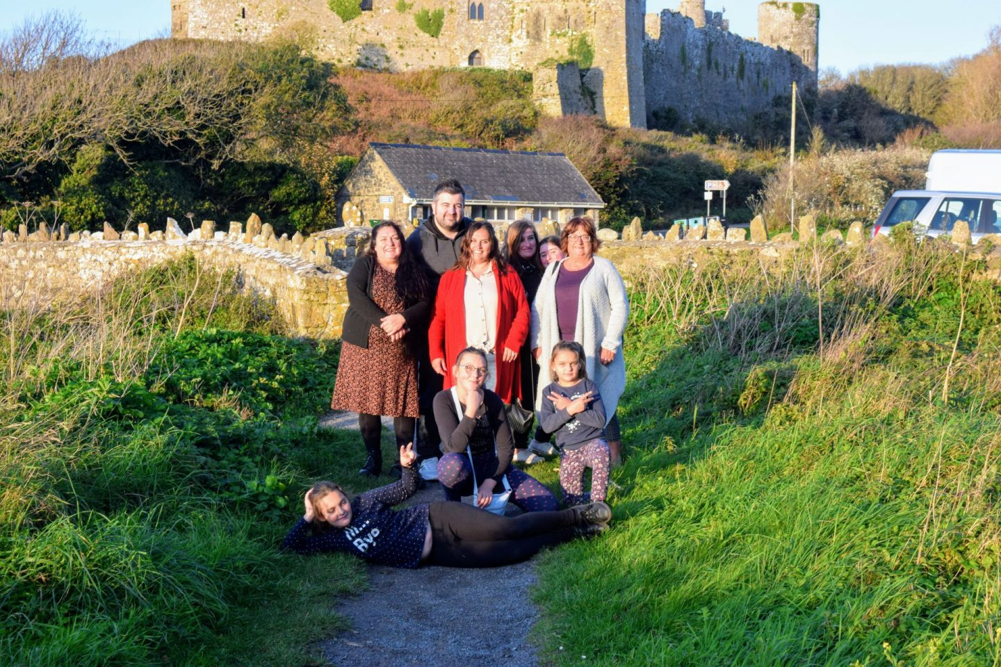, Snapshots of St James the Great Church, Manorbier, Pembrokeshire