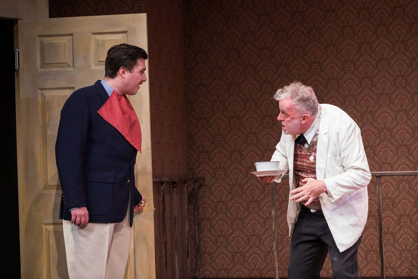 , Review:  One Man, Two Guvnors at the Torch Theatre, Pembrokeshire
