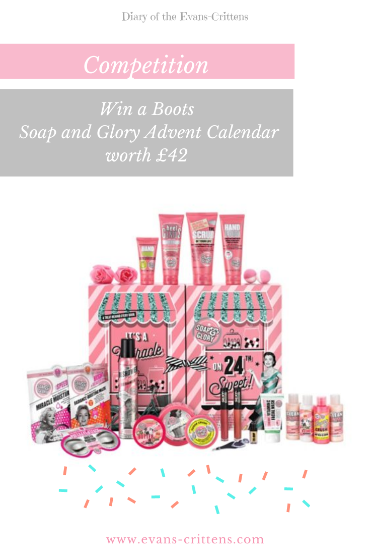 , AD All I Want for Christmas with Boots (Win a Soap & Glory Advent Calendar)