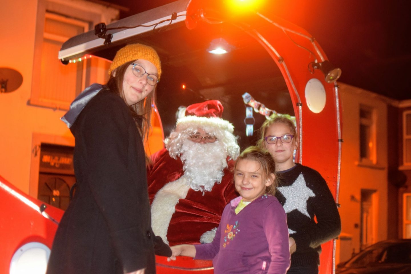 , Santa's Tour of Milford Haven 2019