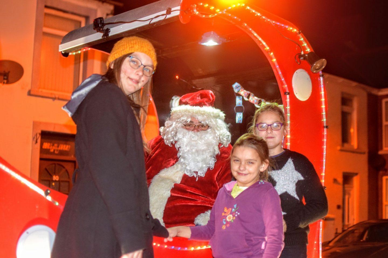 , Santa's Tour of Milford Haven 2019