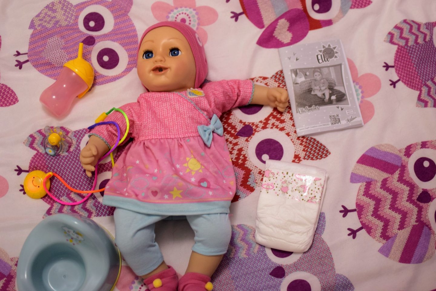 , AD Izzy Reviews:  Elli Smiles Doll