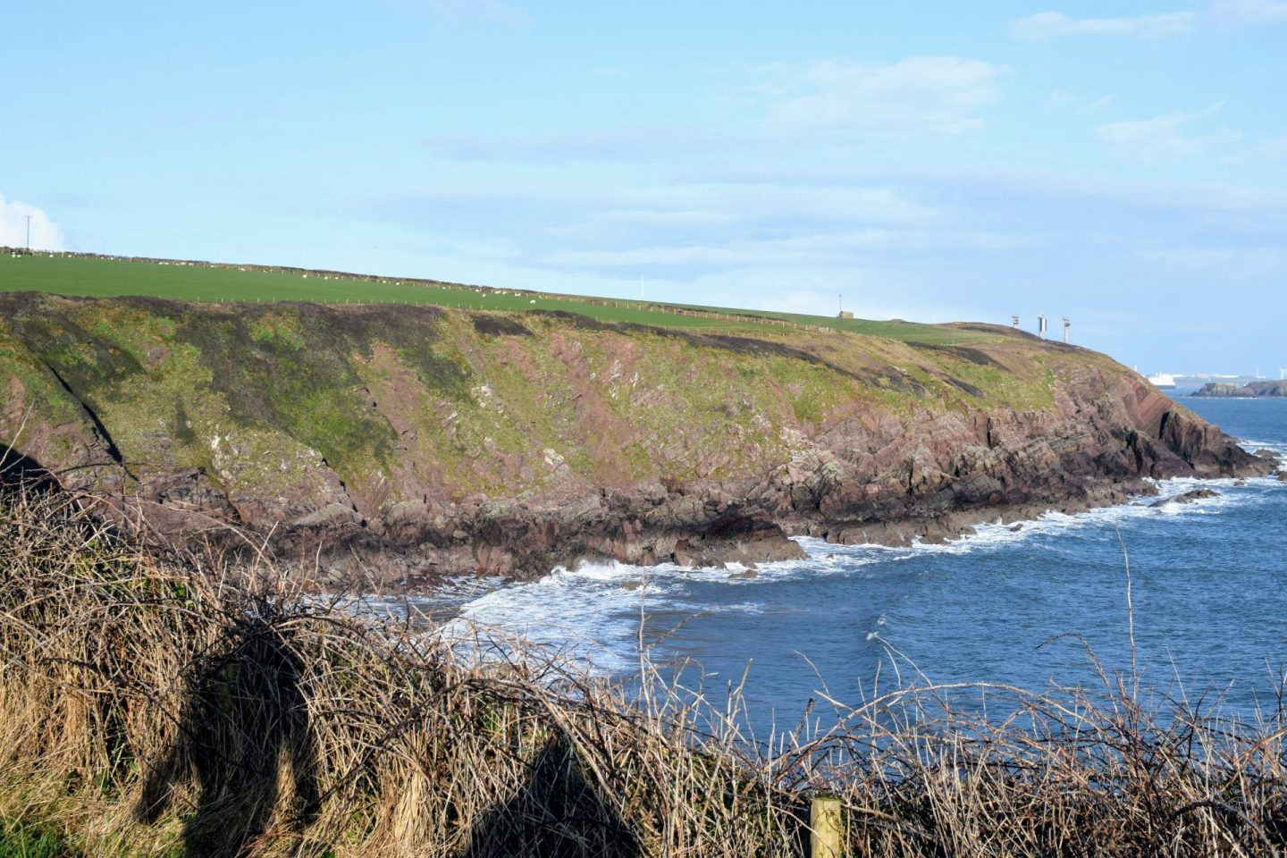 , Exploring Kete, St Ann's Head & Mill Bay, Pembrokeshire