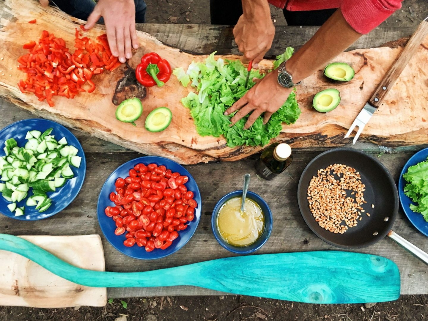 , Using Isolation To Learn To Cook