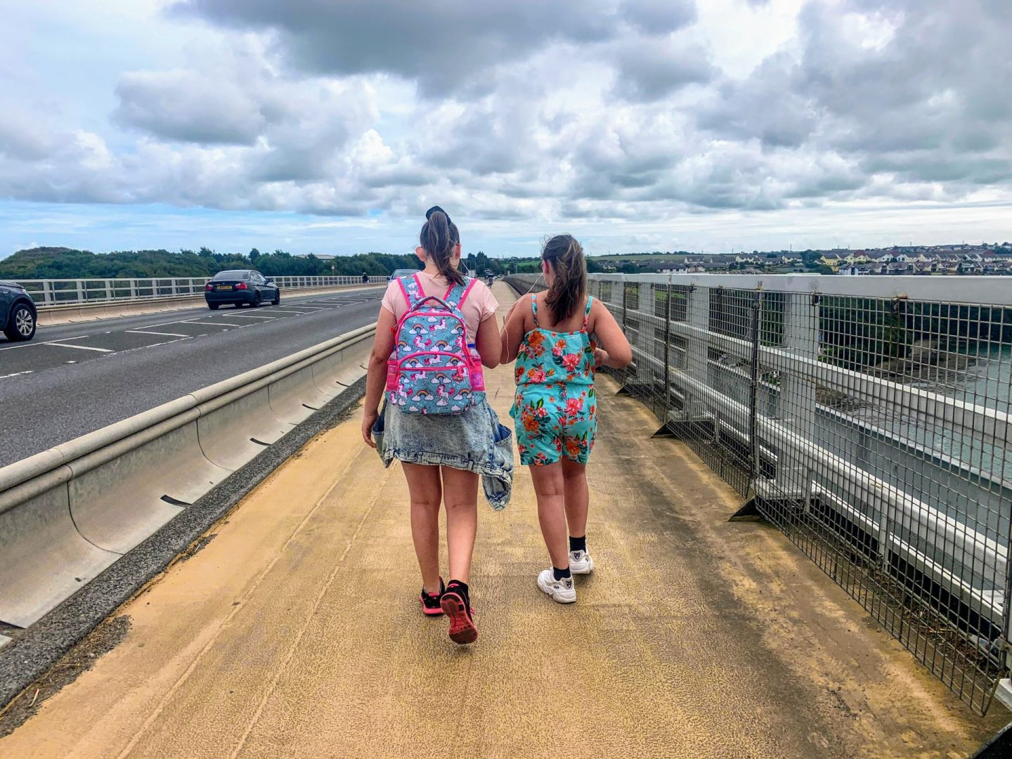 , A Stroll Along the Cleddau Bridge