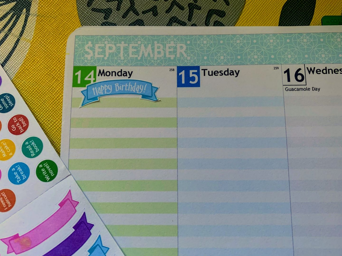 , Ad-gifted   A New Normal   Win a Personal Planner