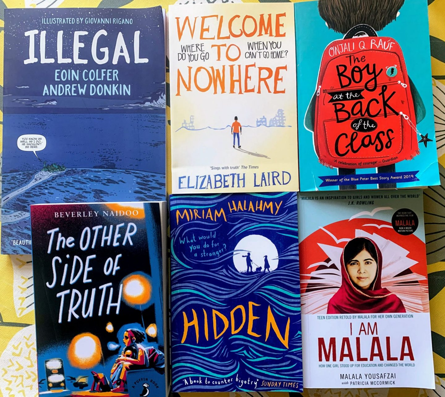 , Books About Refugees & Migrants for Children & Teenagers