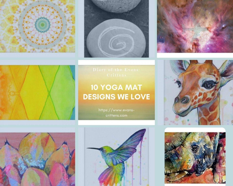 yoga mat, Ten Yoga Mat Designs We Love