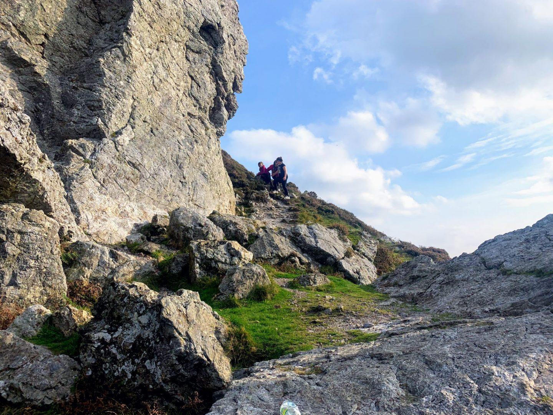 Treffgarne Rocks, A Short Walk:  Treffgarne Rocks, Pembrokeshire