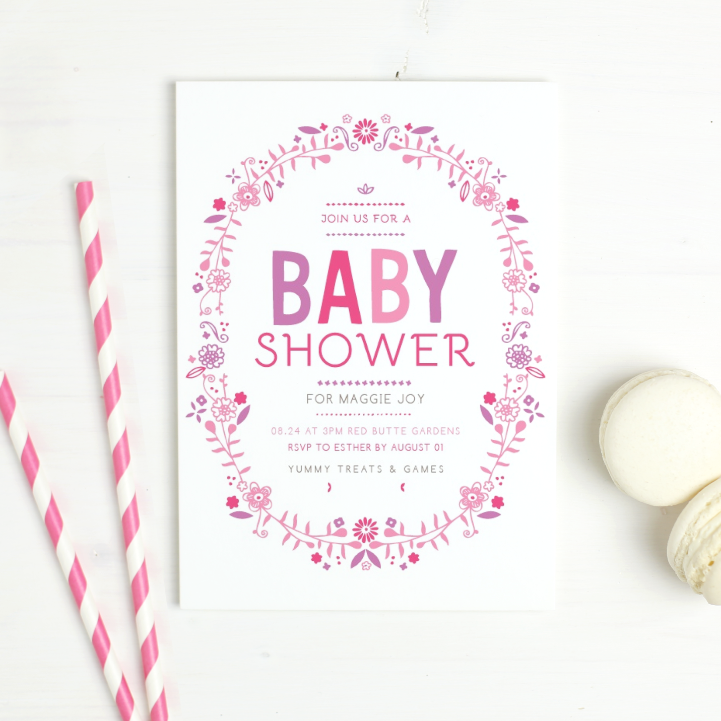 , Mind-Blowing Ideas for baby girl birth announcements