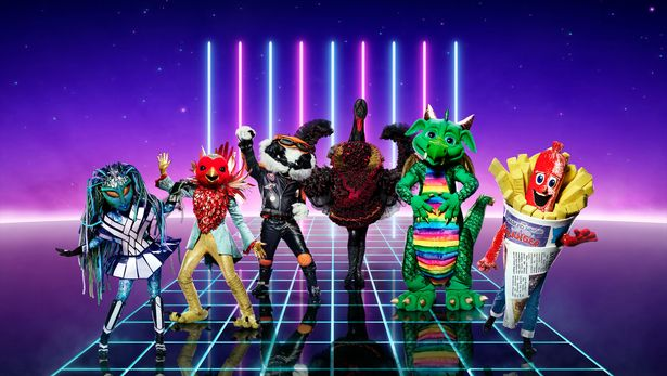 , TV:  Whose That Behind the Mask?  Masked Singer Final 2021 (Who are Robin, Sausage and Badger?)