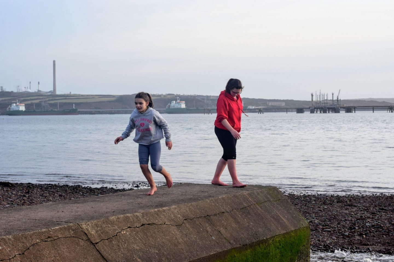 , Sea Shells and Mermaid's Purses, Gelliswick Beach #walkfromhome