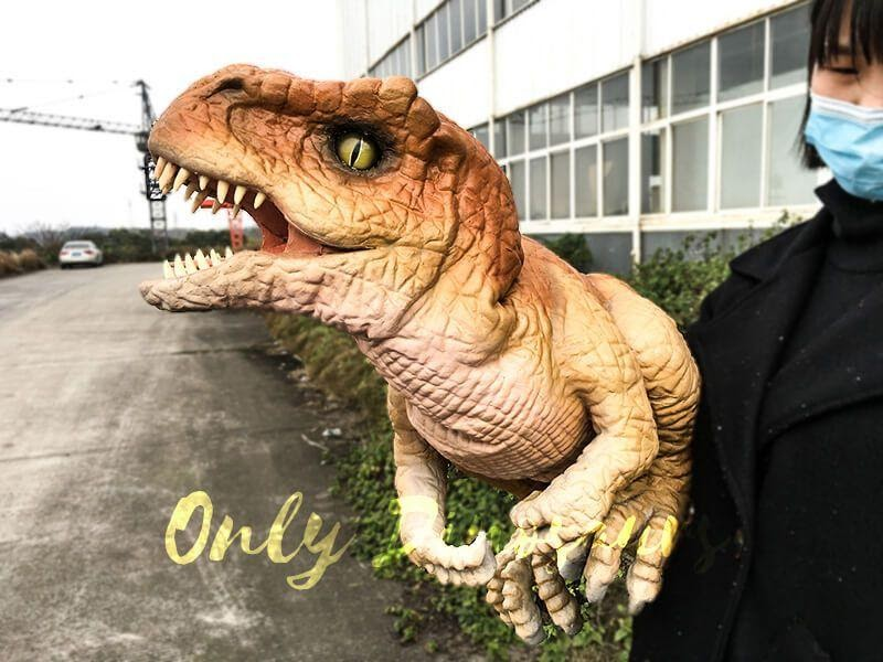 , Run A Comedy Show With Dinosaur Puppet