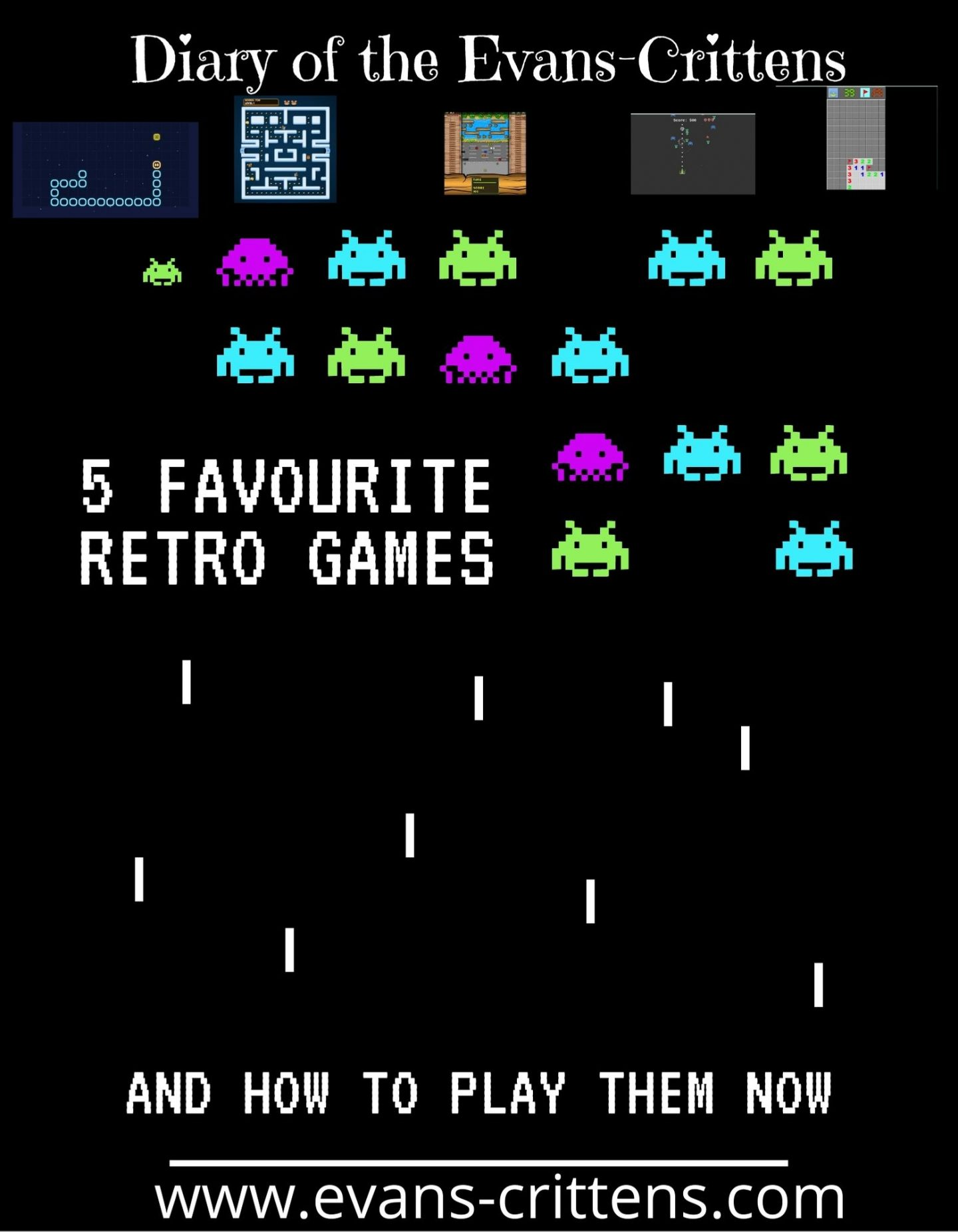 , Five Favourite Retro Games and How You Can Play Similar Now
