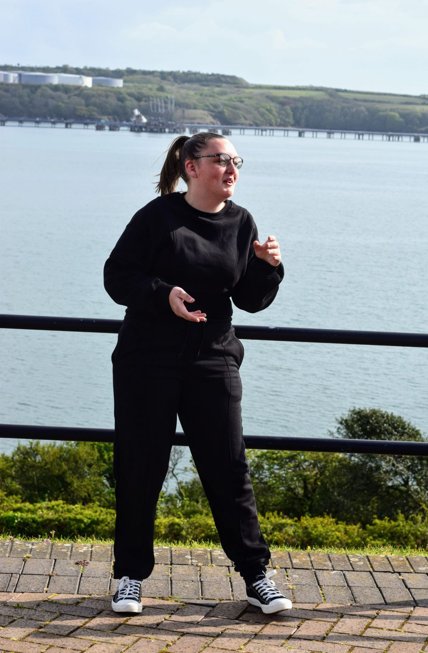 , Walking Dodge at Milford Marina (and Femme Luxe Review)