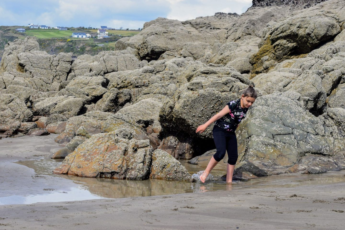 , A Stroll Across Broad Haven Beach to Little Haven, Pembrokeshire