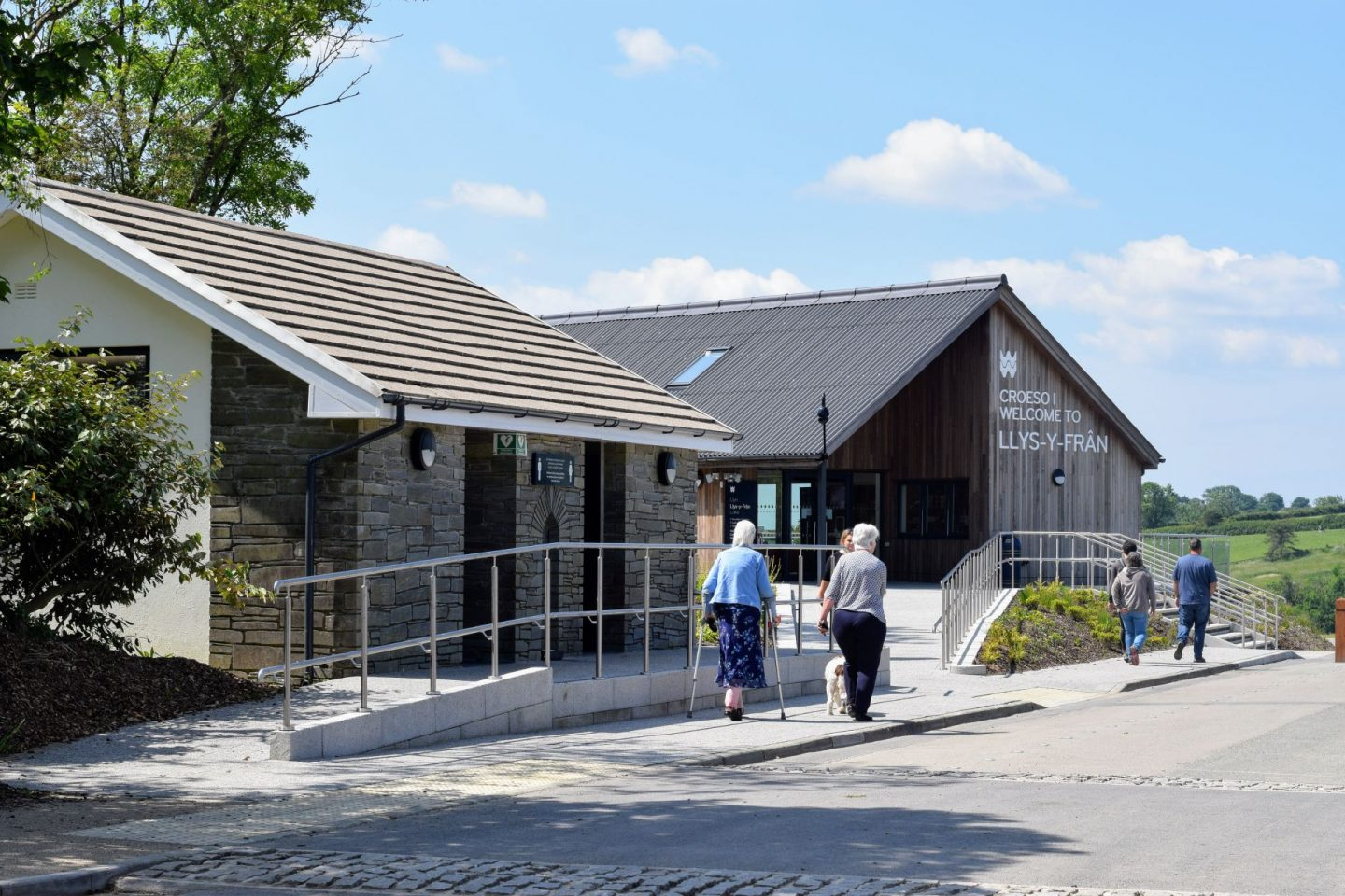 , A Day Out at the Newly Reopened Llys-y-Frân Lake, Pembrokeshire