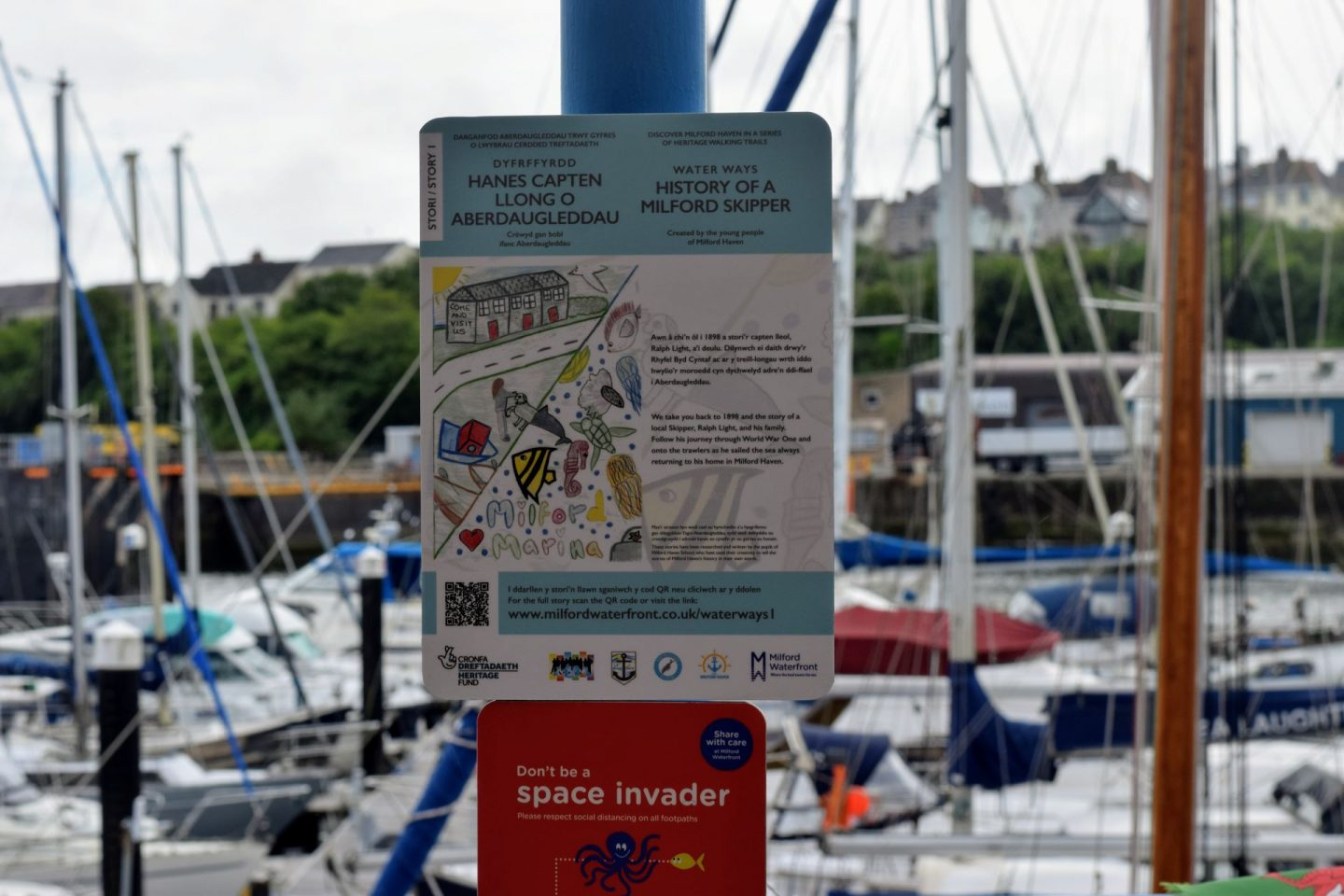 Milford Waterfront's New Heritage Trail