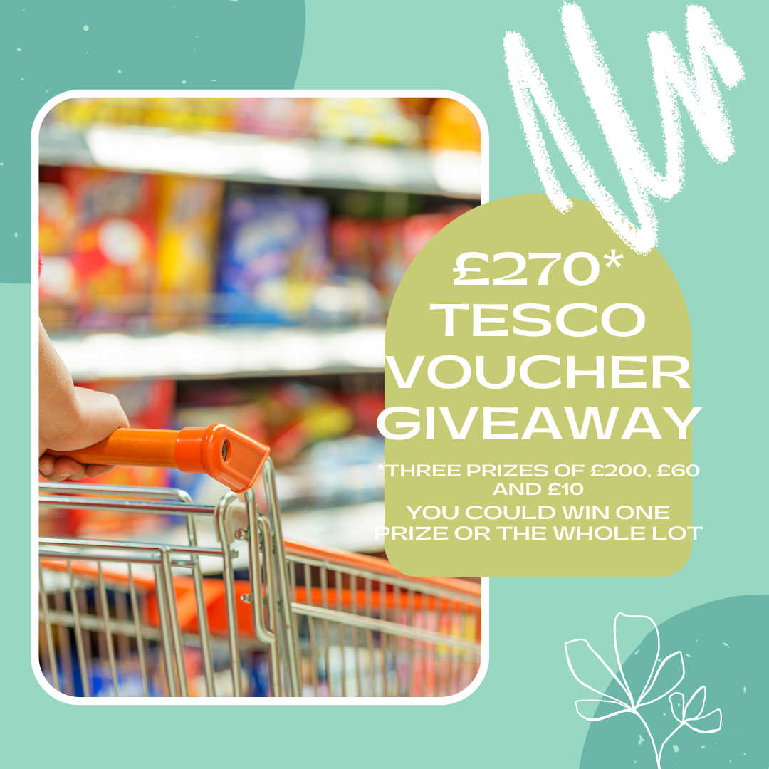 , Competition:  Win up to £270 of Tesco Vouchers