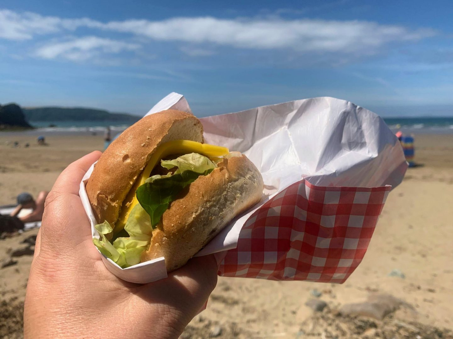 , Burger on the Beach / Sand & Stone, Broad Haven