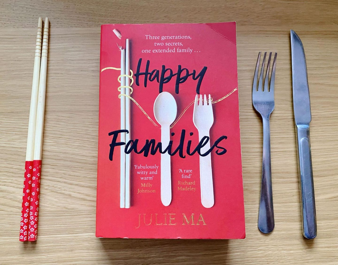 """, """"Happy Families"""" by Julie Ma –  Book Review & Giveaway"""